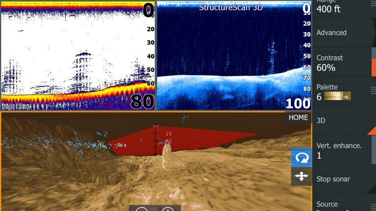 Lowrance Launches 3D Sonar - StructureScan 3D