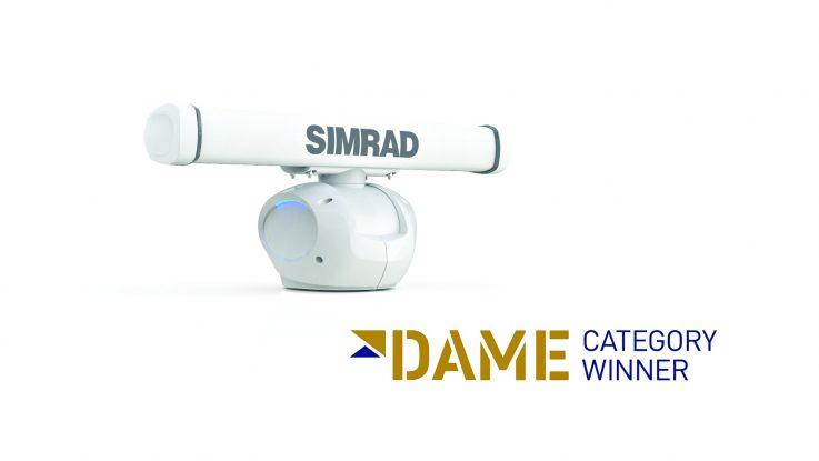 Simrad Halo Radar Wins Design Awards at METS 2015