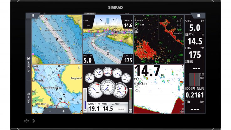 Announcing New Simrad® NSO evo3 Navigation System