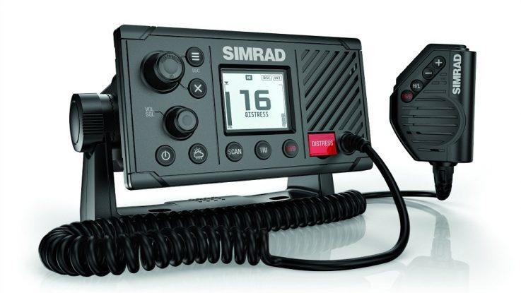 Announcing new Simrad RS20 VHF Marine Radio